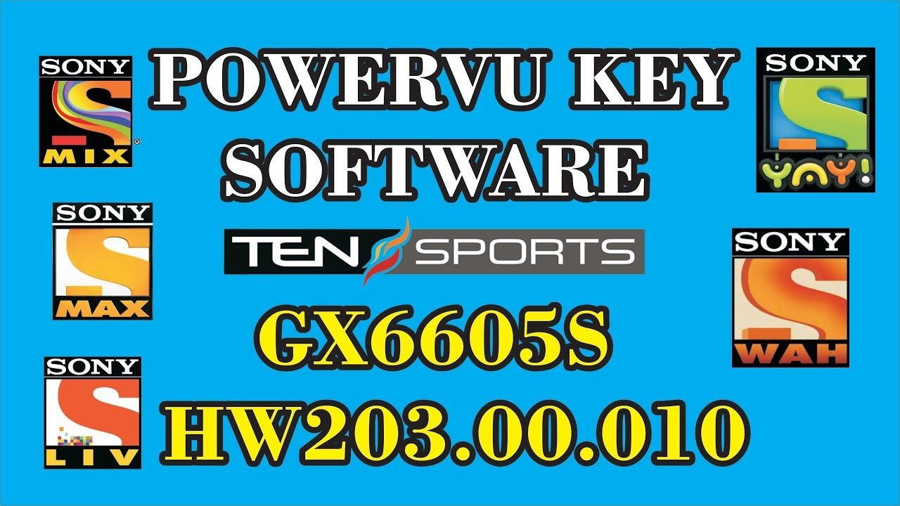 POWERVU KEY SOFTWARE GX6605S HW203 00 010 NEW UPDATE | star look in
