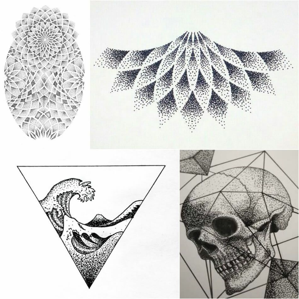 Dotwork Tattoo Dotwork Tattoo Technique Dotwork Tattoo Designs Explore More Tattoo Mandala Tattoo Design Abstract Tattoo Designs Symbol For Family Tattoo