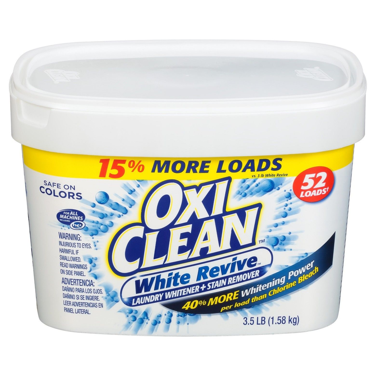 Oxiclean White Revive Laundry Whitener Stain Remover Powder