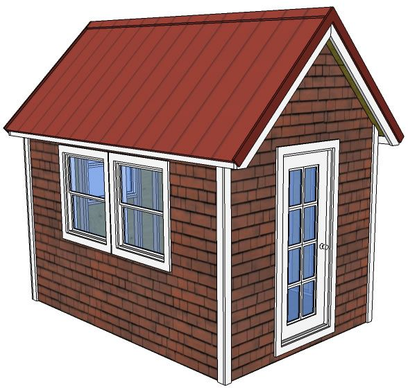 8x12 Tiny House Free Pdf Of Plans Tiny House Design