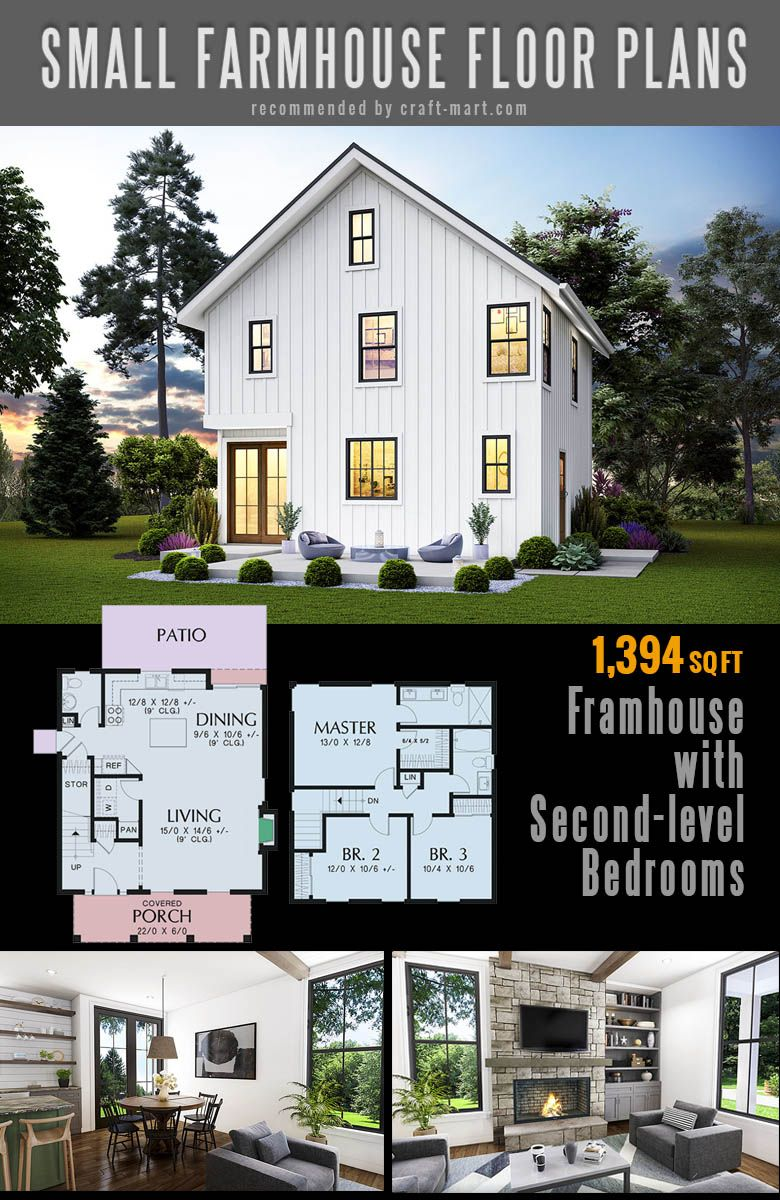 Small Farmhouse Plans For Building A Home Of Your Dreams Craft Mart Simple Farmhouse Plans Small Farmhouse Plans Modern Farmhouse Plans