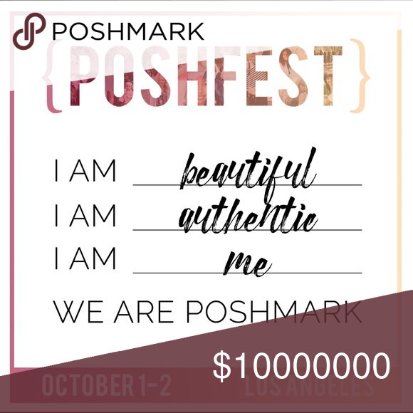 MEET ME AT POSHFEST! I CANT WAIT TO MEET MY POSH SISTERS!💕💕💕💕💕💕.                                                        SHARE THE POSH LOVE!💕💕💕💕💕💕💕 Other