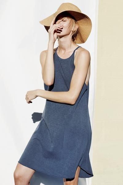 Sundry High Neck Tank Dress
