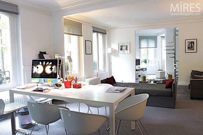 Open Living Room Design With Mac Desk Ideas Open Living Room Design With Mac Desk Ide Apartment Interior Design Modern Apartment Decor Open Living Room Design