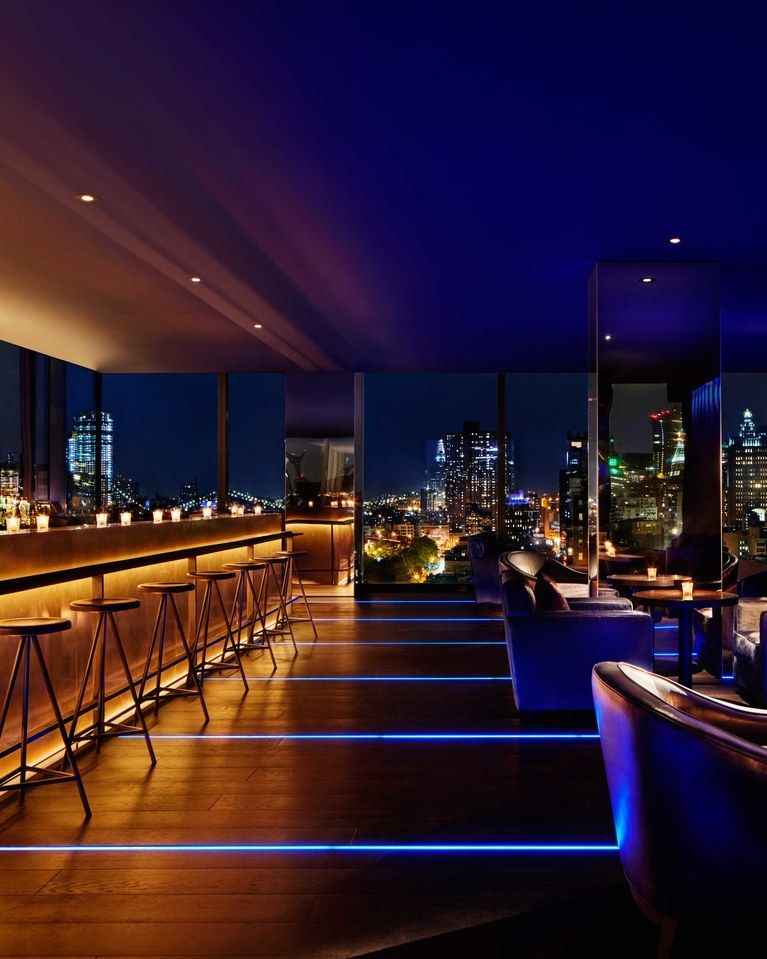 The Roof, New York Rooftop Bar Review Condé Nast