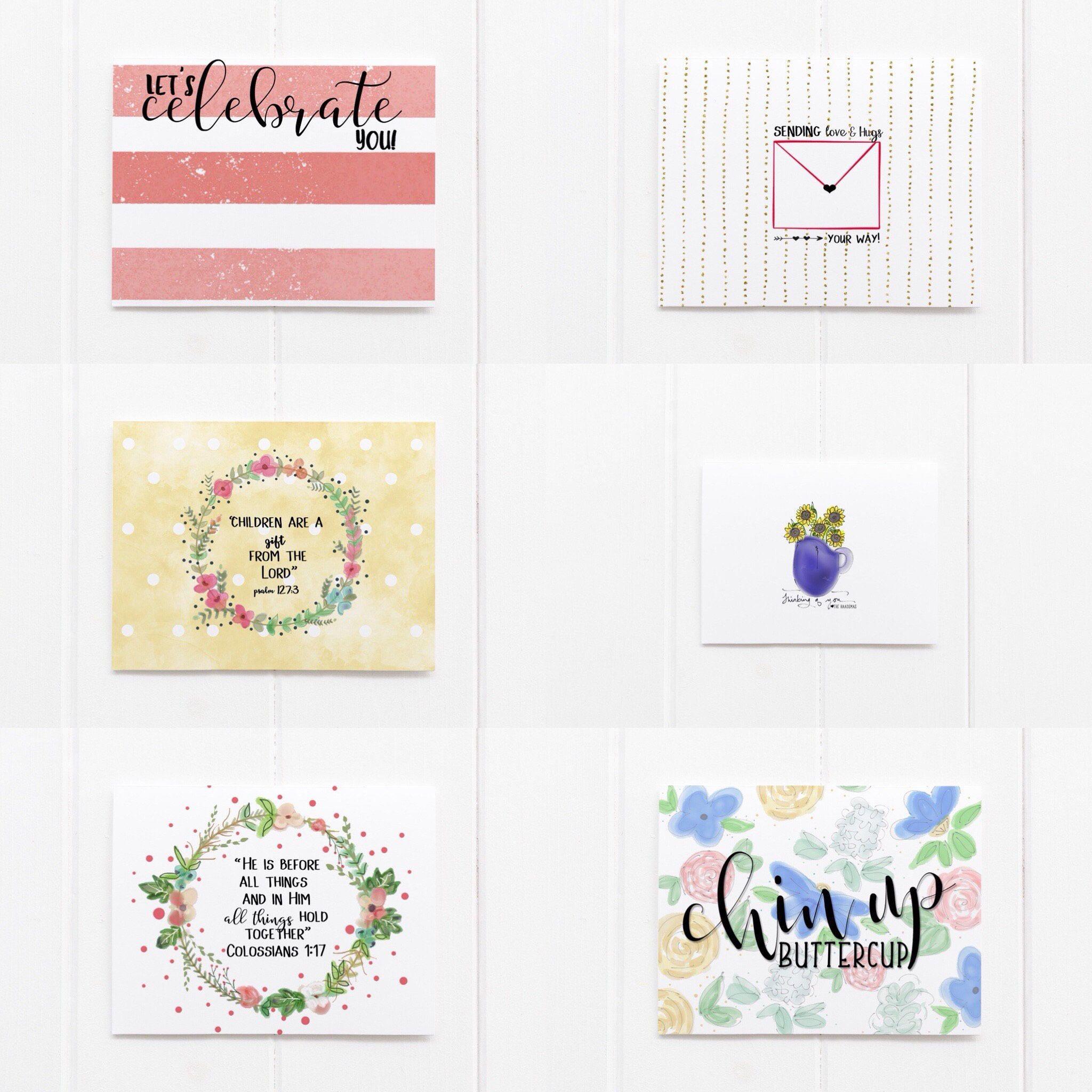 Greeting card set set of 12 custom note cards folded greeting greeting card set set of 12 custom note cards folded greeting cards m4hsunfo
