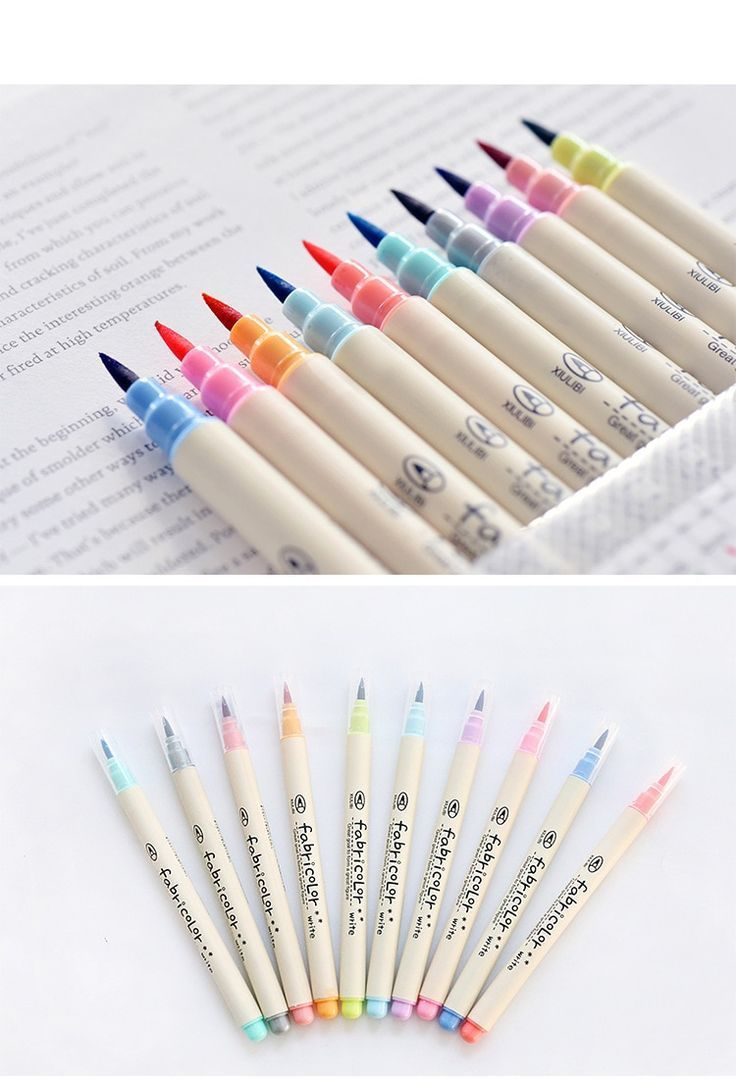 10 set of watercolour calligraphy pens calligraphy pens