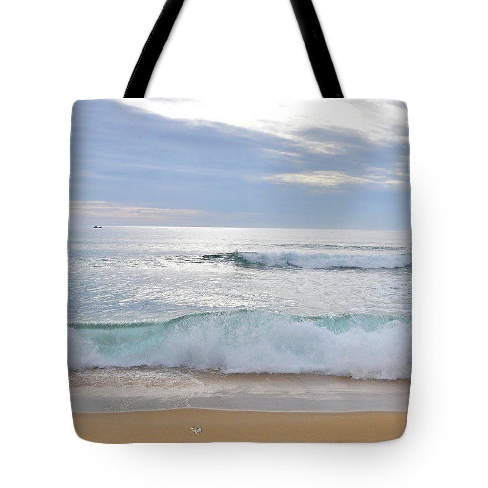 Sea Tote Bag featuring the photograph Tam Quan Beach. by Nhi Ho Thi Xuan