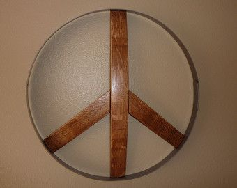Wine Barrel Hoops For Sale Peace Signs Pinterest Muebles And