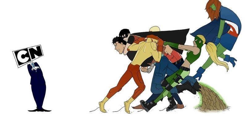 Petition · Cartoon Network: Young justice season 3 · Change