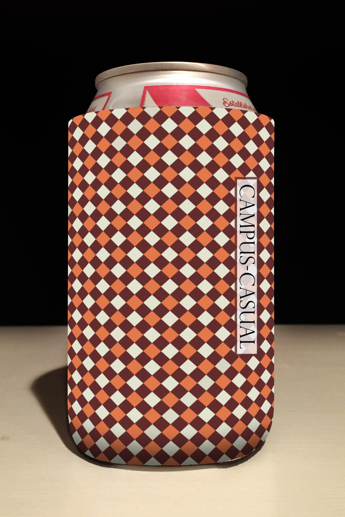 Checker Coozie