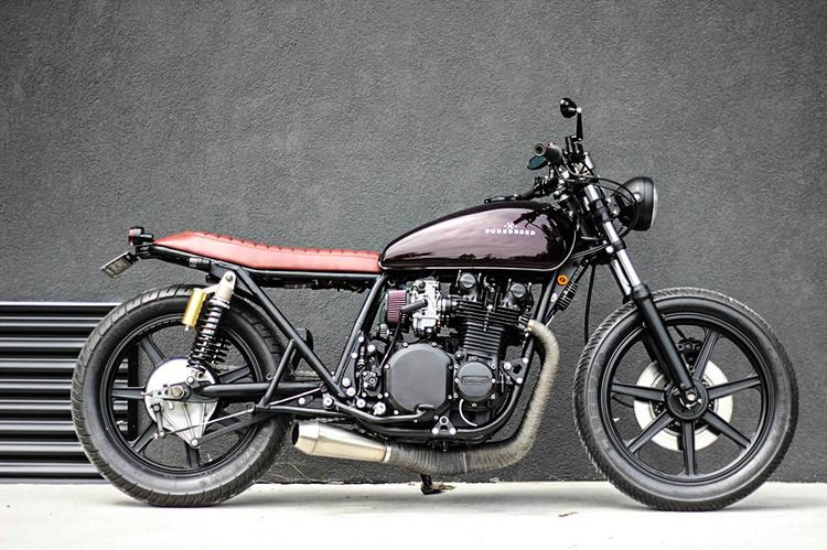 purebreed cafe racer motorcycles kawa auto. Black Bedroom Furniture Sets. Home Design Ideas