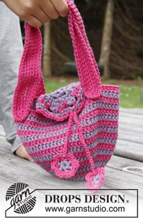Crochet Kostenlose Anleitungen Von Drops Design Häkeln Taschen