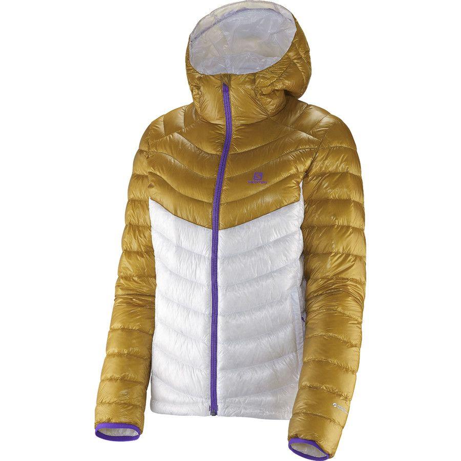 Salomon Super Halo Hooded Down Jacket Women's White