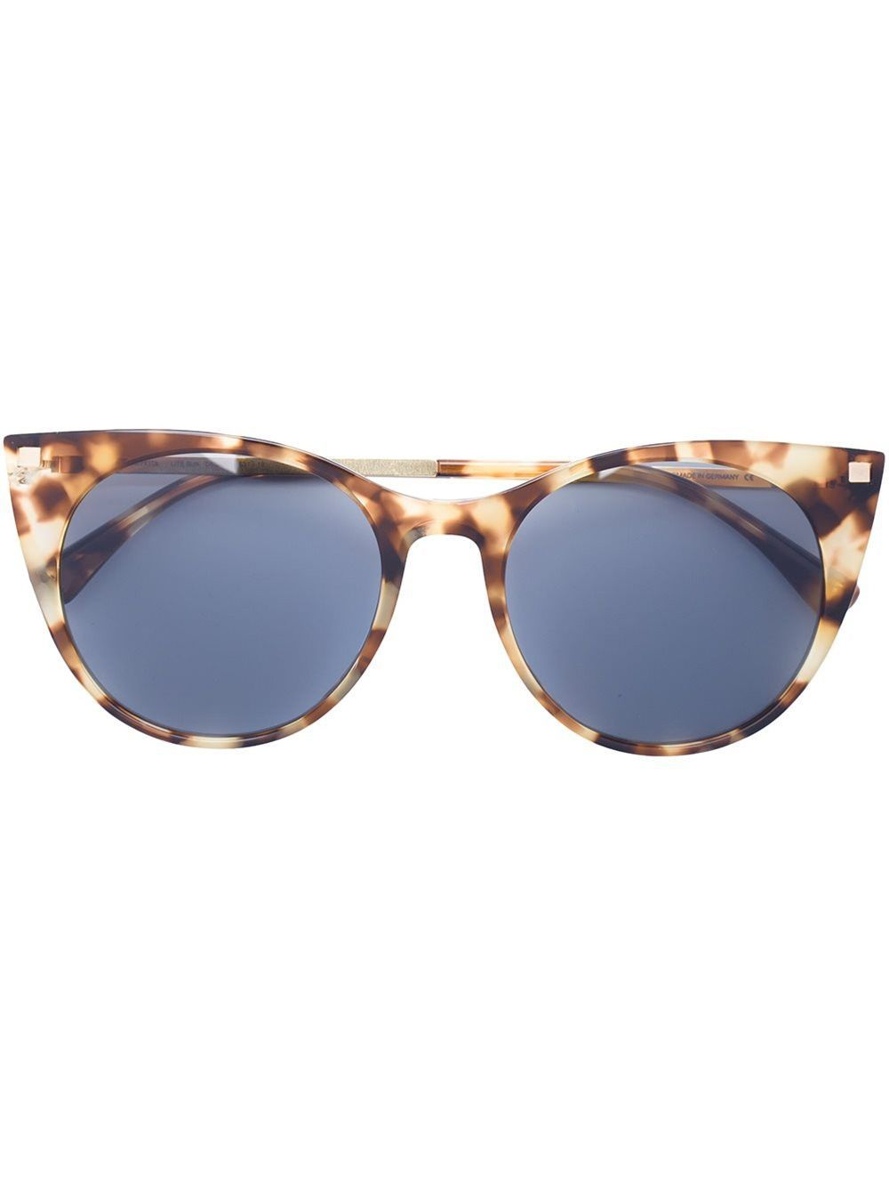 Brown and blue acetate and metal cat-eye 'Desna' sunglasses from Mykita.  Shop all the latest Mykita styles and womens designer accessories at  Anastasia ...
