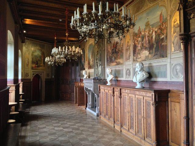 Burg Hohenzollern Interior Hohenzollern Castle Castle Layout Germany Castles