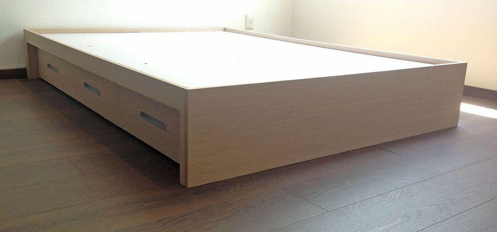 Como construir una cama con cajonera buscar con google dormitorio pinterest cajonera - Cajonera bajo cama ...