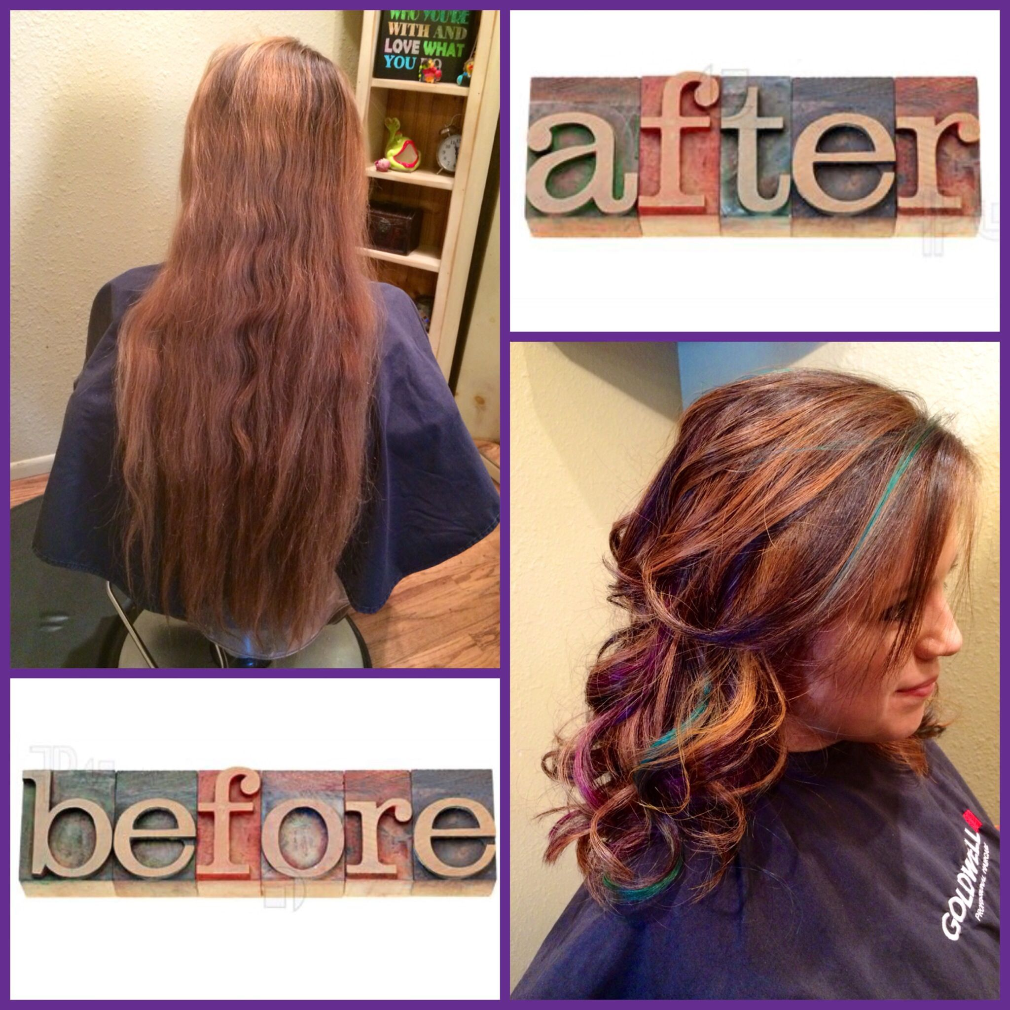 Hair by Jamie: A fun color @salonhethers