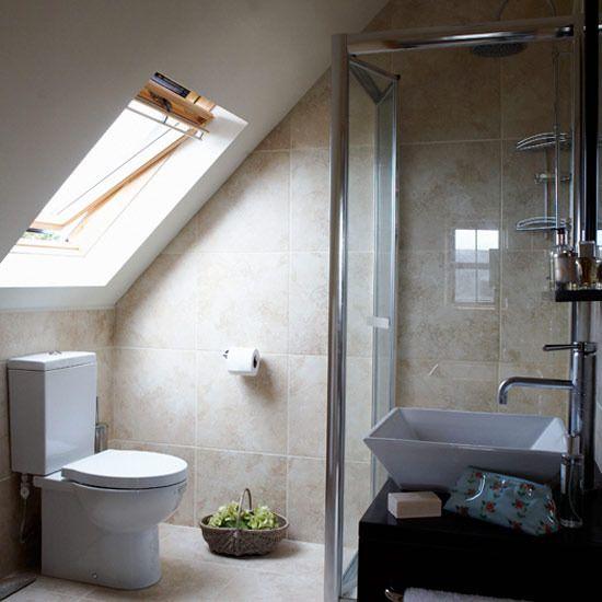Attic Bathrooms Ideal Home Attic Shower Small Attic Bathroom Attic Bathroom