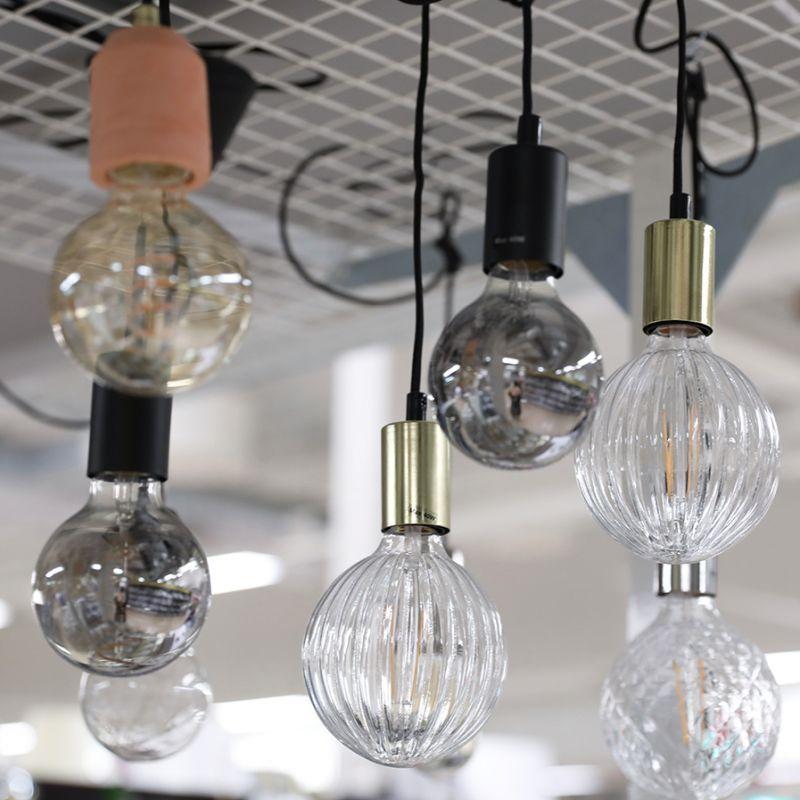 Inred Med Glodlampor Gekas Glodlampa Hangande Lampa Belysning Tak