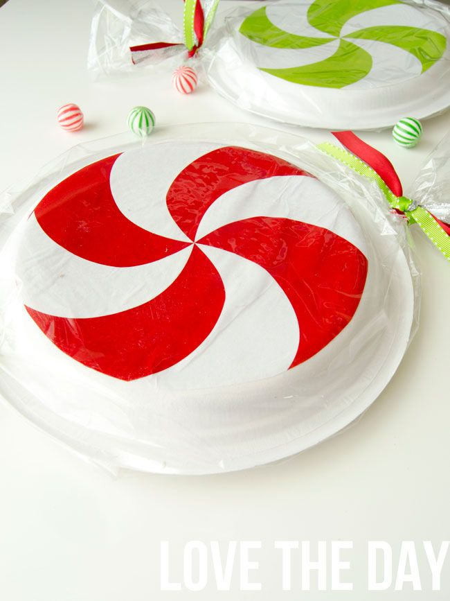 Paper Plate Peppermint Tutorial - Design Dazzle  sc 1 st  Pinterest & Paper Plate Peppermint Tutorial | Peppermint Tutorials and Free ...