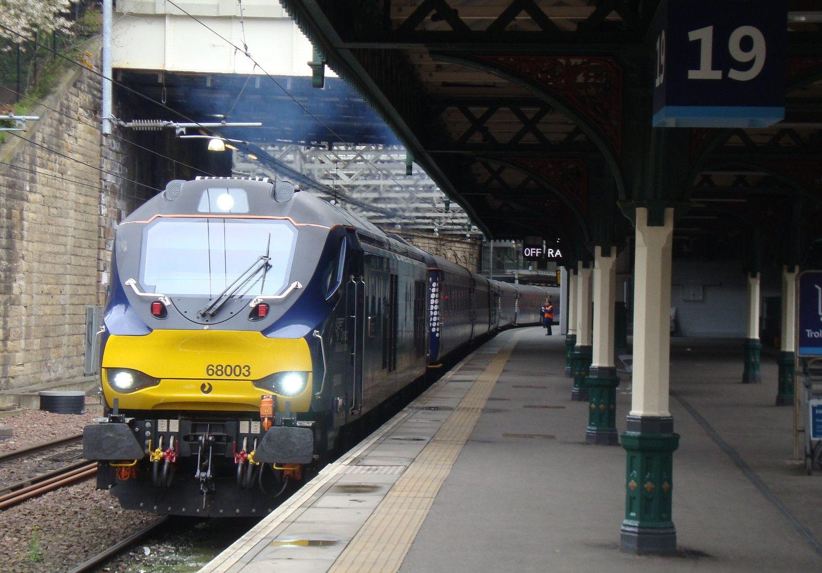 Direct Rail Services Class 68003 'Astute' departing Edinbu… | Flickr