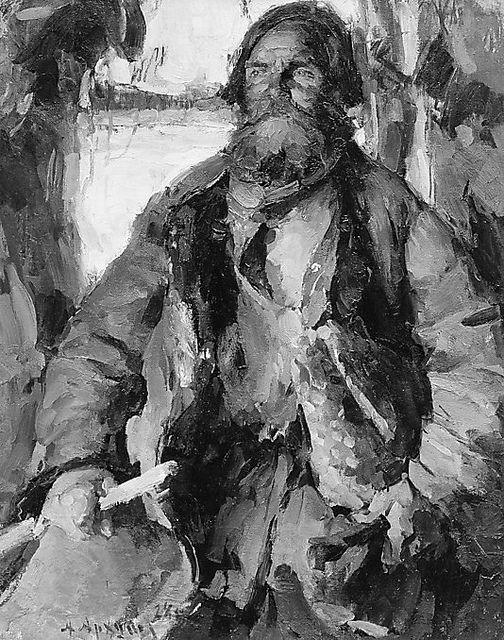 Arkhipov, Abram (1862-1930) - 1928 The Peasant Ivan Rodin (Metropolitan Museum of Art, New York City) by RasMarley, via Flickr