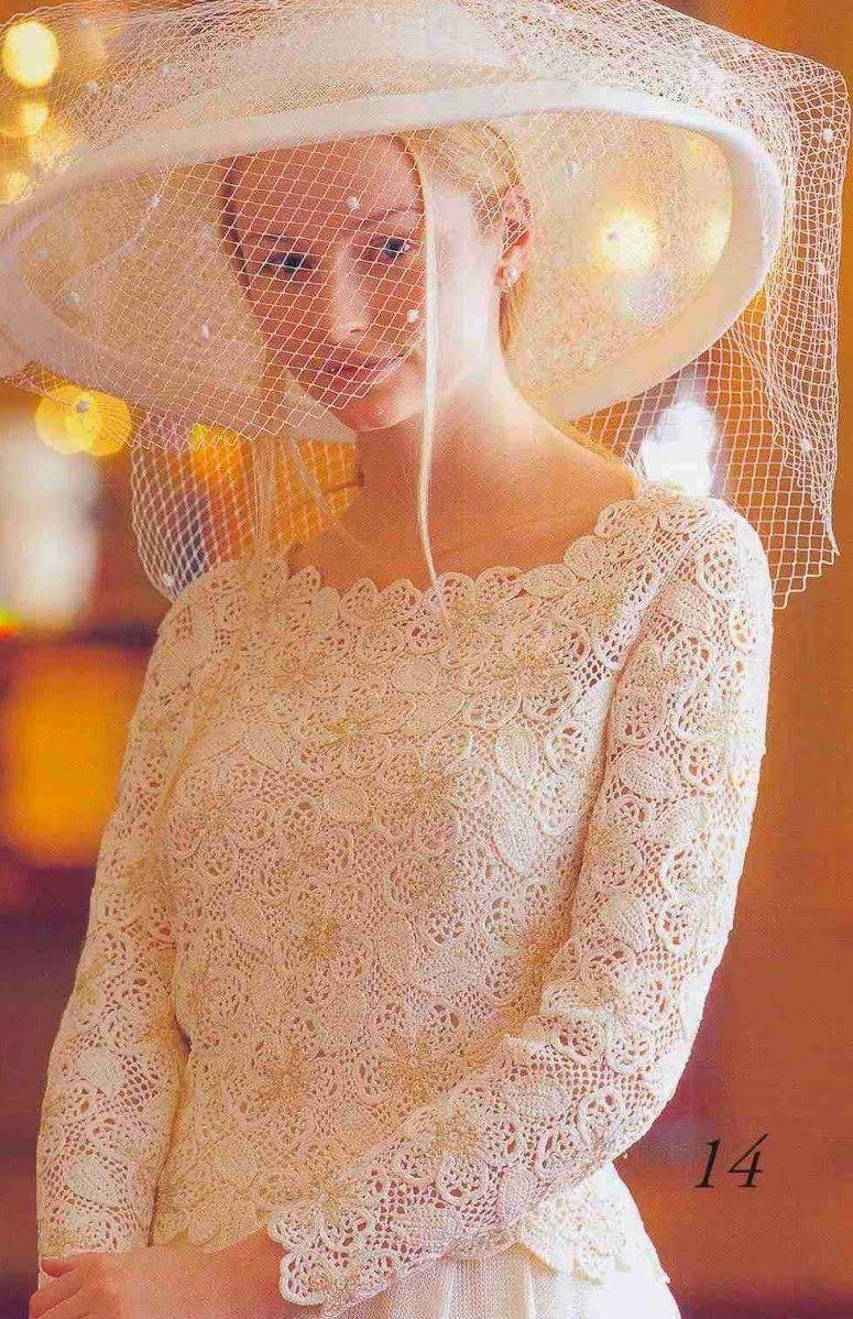 Marisabel+crochet:+Para+las+novias