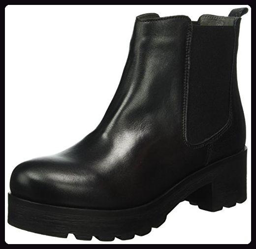Shoot Damen Chelsea Boots, Schwarz (Black), 40 EU Stiefel