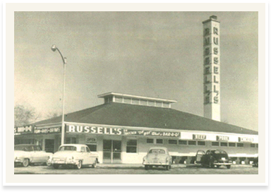 Historic Photo Of Russell S Barbecue Thatcher Avenue Elmwood Park Chicago Travel Elmwood Park Chicago History