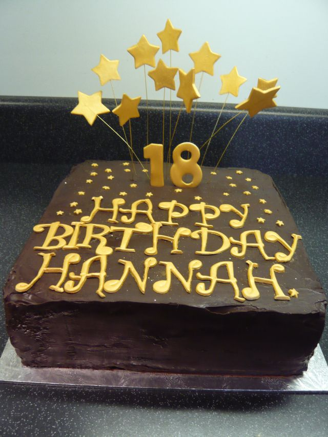 18th Birthday Chocolate Cake Birthday Stuff Pinterest Birthday