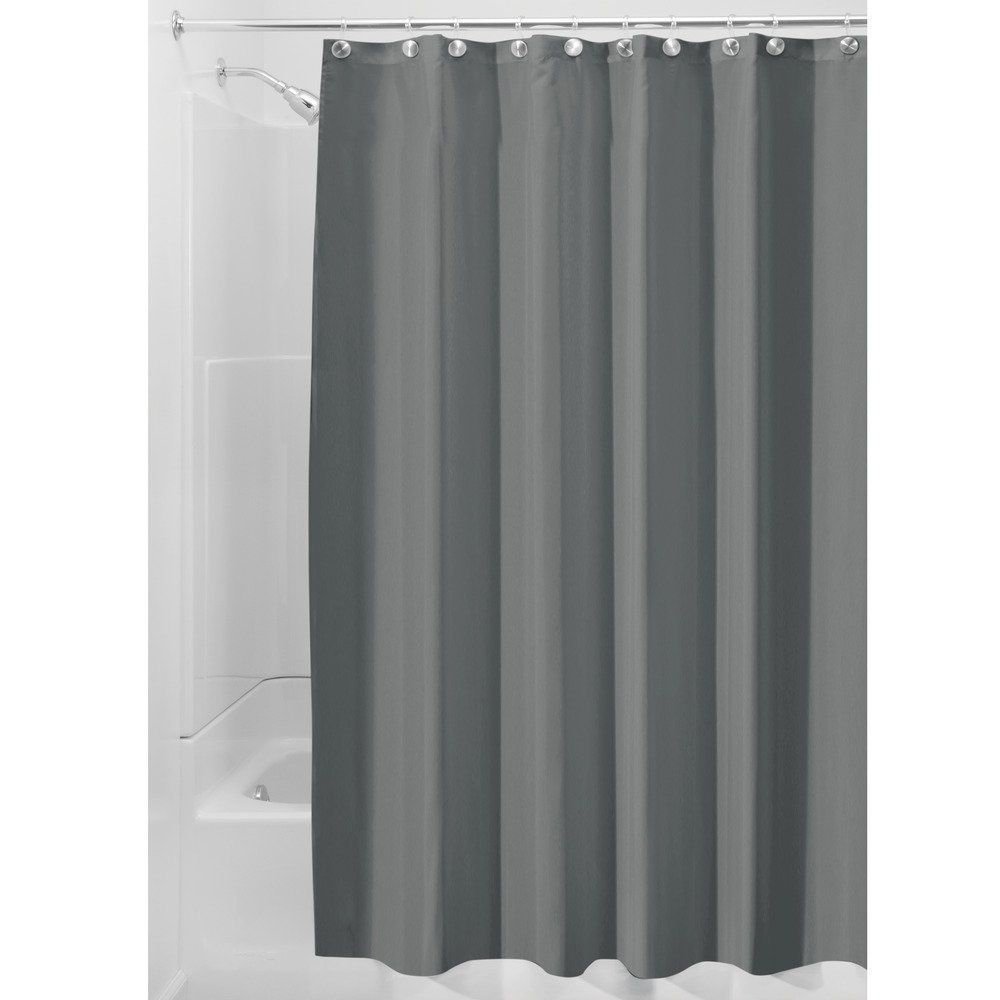 Fabric Shower Curtain Liner Extra Long 72x96 Bath Spa Deck Outdoor