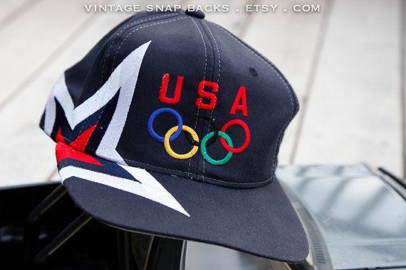 Team USA vintage Olympic Rings snapback
