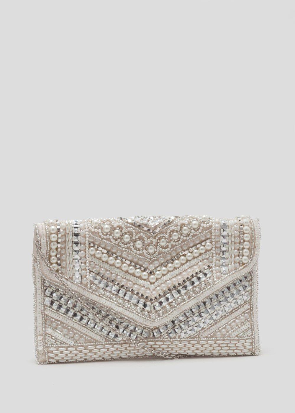 e6a70968f022d0 Pearl Clutch Bag - Matalan | Fashion | Clutch bag, Bags, Matalan