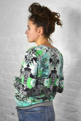 Numph New Yody Spring Bouquet Sweater   The Mercantile London