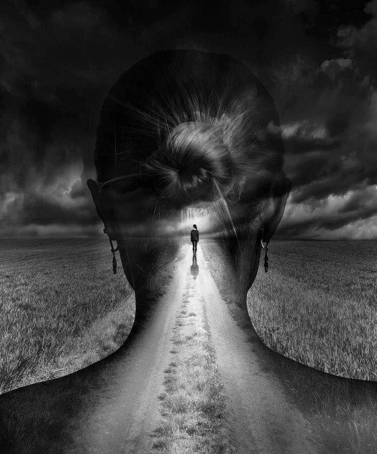 картинки тишина в голове