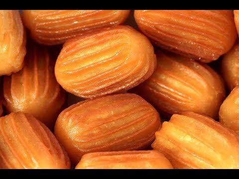 طريقة عمل بلح الشام الجميل بطريقة سهلة وبسيطة Tulumba قناة الأسرة السعيدة Middle Eastern Recipes Sweets Recipes Recipes