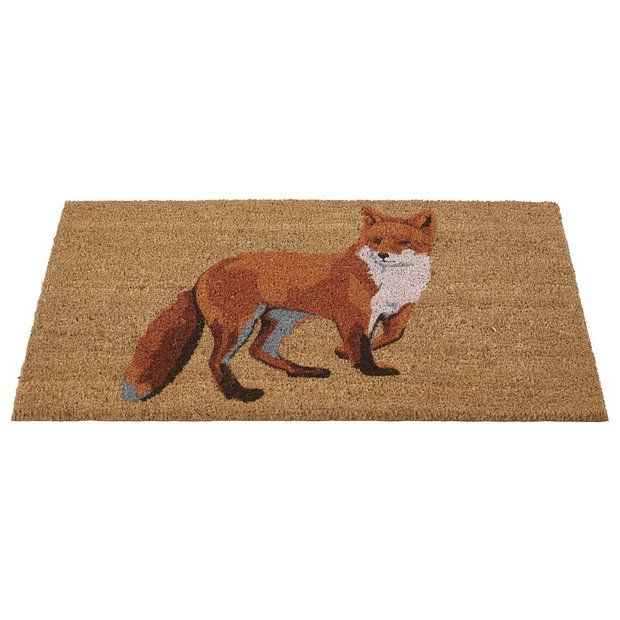 Buy Gardman Fox Printed Doormat at Argos.co.uk - Your Online Shop for Rugs and mats, Home furnishings, Home and garden.