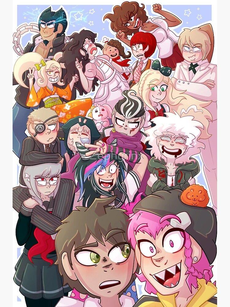 Danganronpa 2: Goodbye Despair : danganronpa, goodbye, despair, SUPER, DANGANRONPA, GOODBYE, DESPAIR', Poster, Zephyrinx, Super, Danganronpa,, Anime
