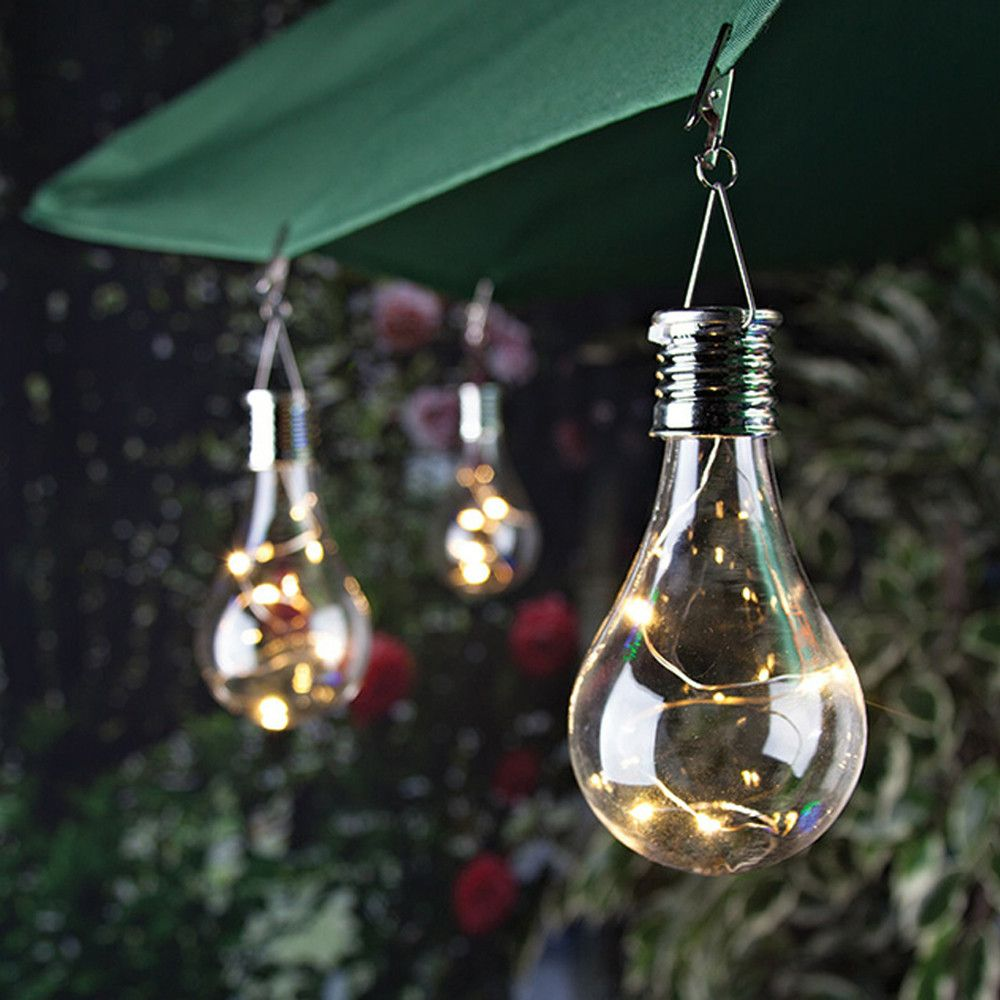 A Unique Solar Powered Light Bulb With Images Solar Light Bulb