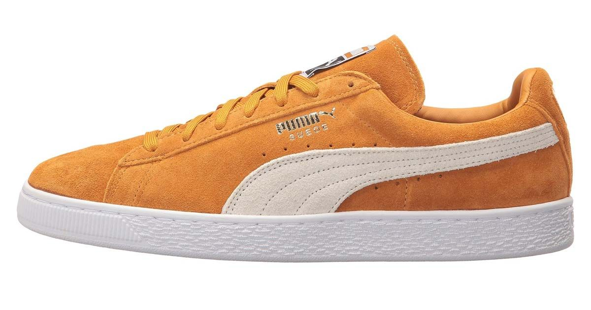 new product 8bb03 3007b Puma Suede Classic Inca Gold $44 at 6pm (Retail $65 ...