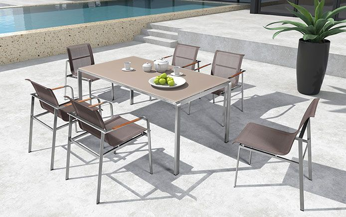 Stainless Steel Patio Furniture | InsideOut Patio Furniture Toronto