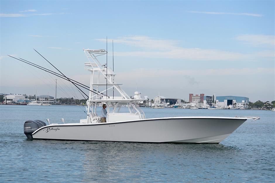 "2012 42' 0"" YELLOWFIN OffshoreYacht Sport fishing boats"