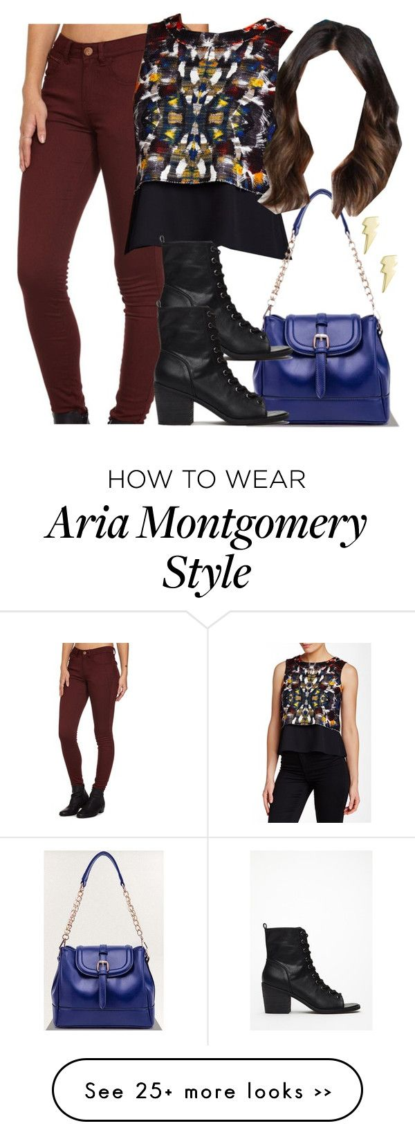 U0026quot;Aria Montgomery inspired outfit with requested topu0026quot; by liarsstyle on Polyvore | Aria Montgomery ...