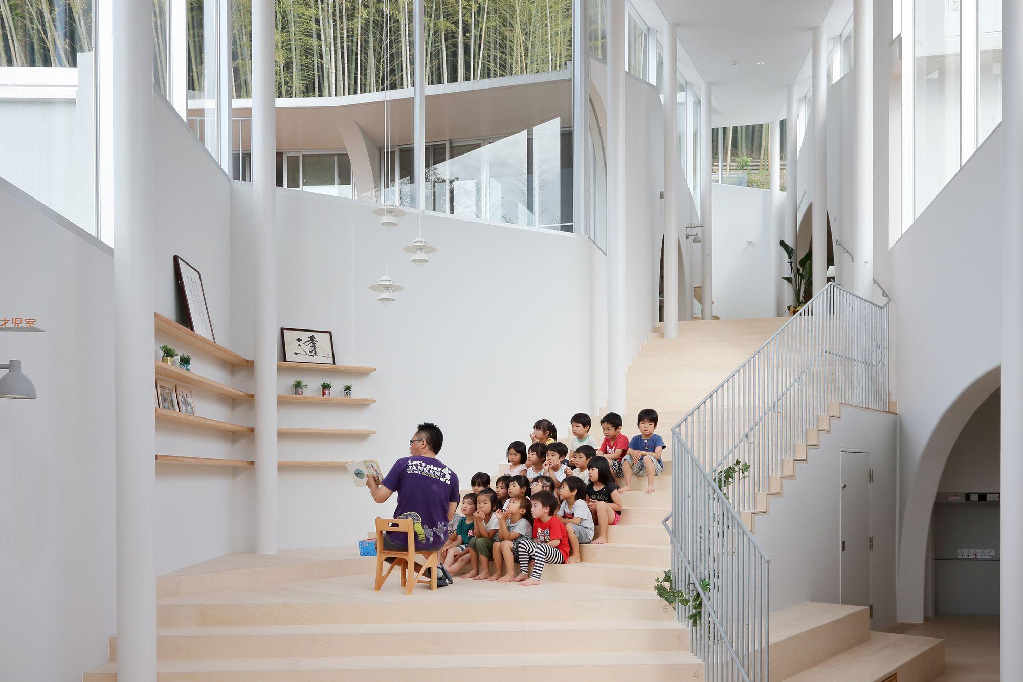 Atago Nursery Kei Sasaki Intermedia Colegios Arquitectura