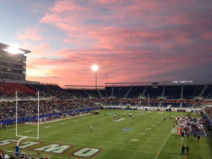 FAU Stadium located at the main campus of Florida Atlantic ...