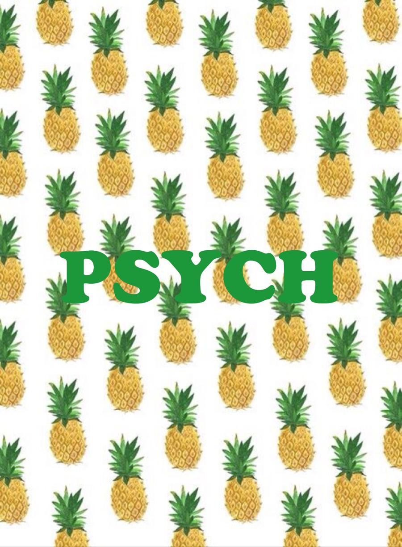 Psych wallpaper Pineapple wallpaper, Pineapple