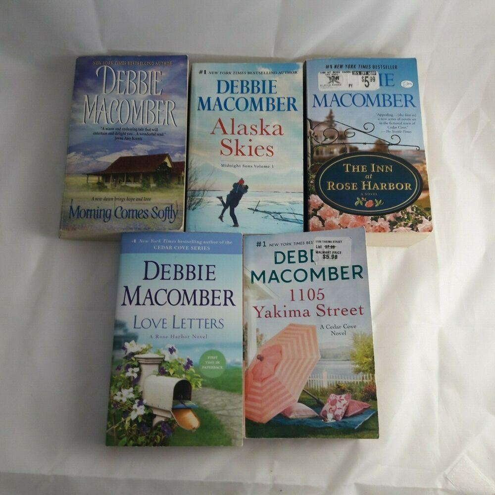 Debbie book lot of 5 the inn at rose harbor