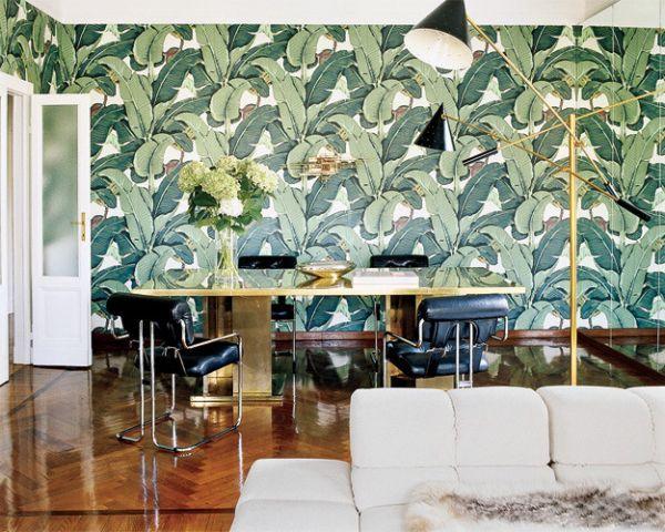 wohnideen mit palmwedel prints inspiration aus den. Black Bedroom Furniture Sets. Home Design Ideas