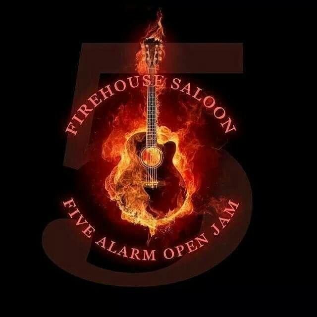 The Firehouse Saloon Guitar Images Music Wallpaper Fire Art